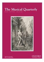 Musical Quarterly, The.