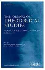 Journal of Theological Studies.