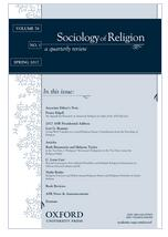 Sociology of Religion.